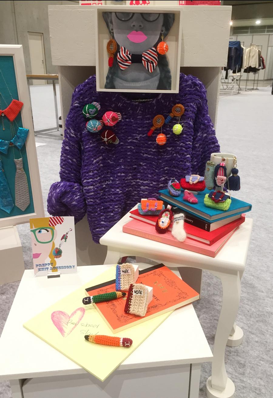 Display3 プレッピーニットアクセサリー Preppy crocher accessories